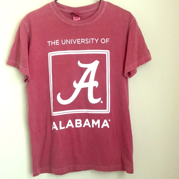 Comfort Colors Tops - Comfort colors Alabama T-shirt! (SM)